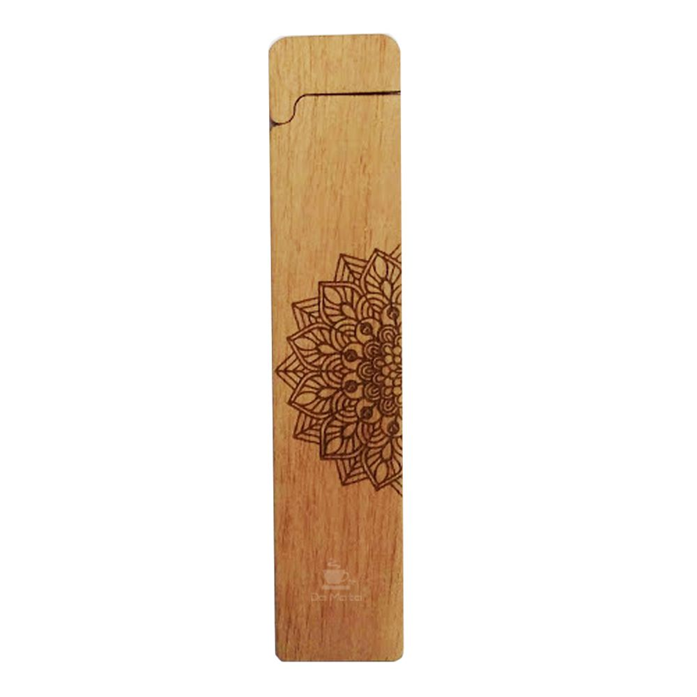 Case Hemp Wood Fire Mandala