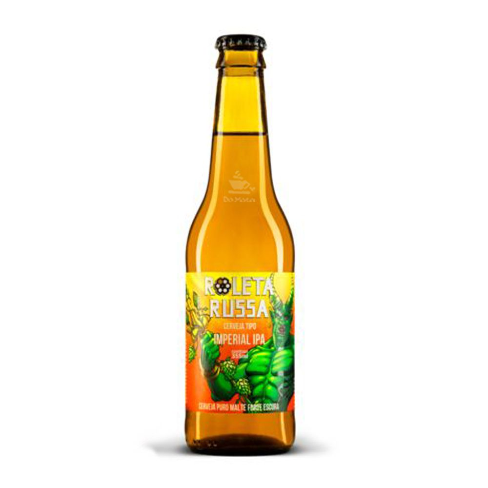 Cerveja Roleta Russa Imperial IPA 355ml