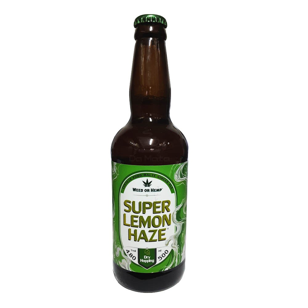 Cerveja Weed or Hemp Super Lemon Haze 500ml