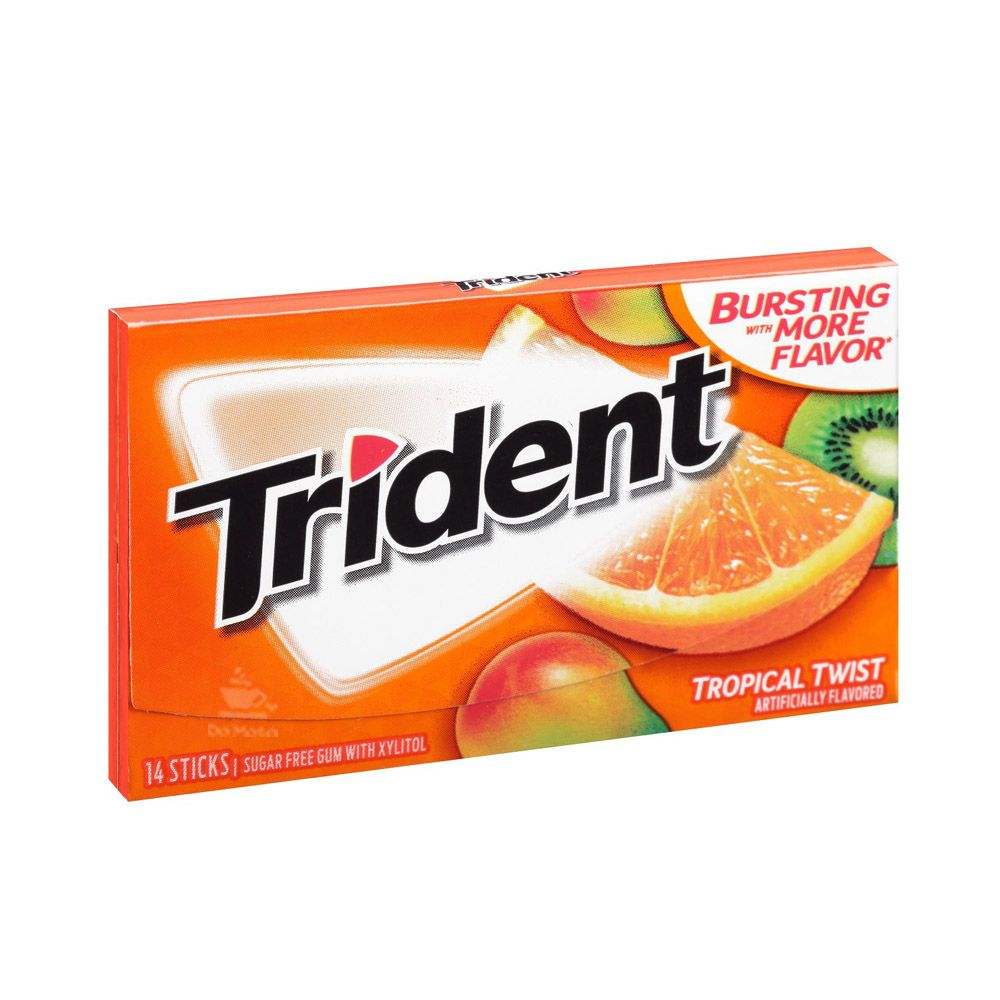 Chiclete Trident Importado - Tropical Twist