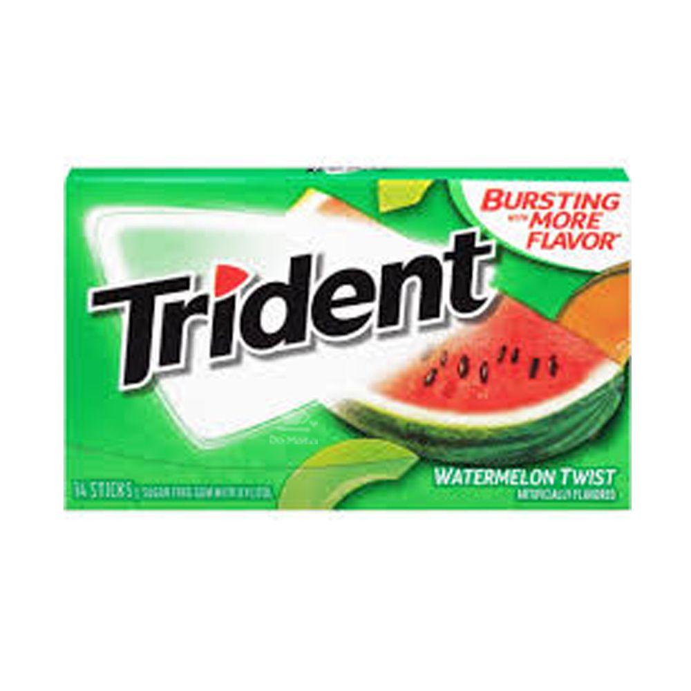 Chiclete Trident Importado - Melancia Twist