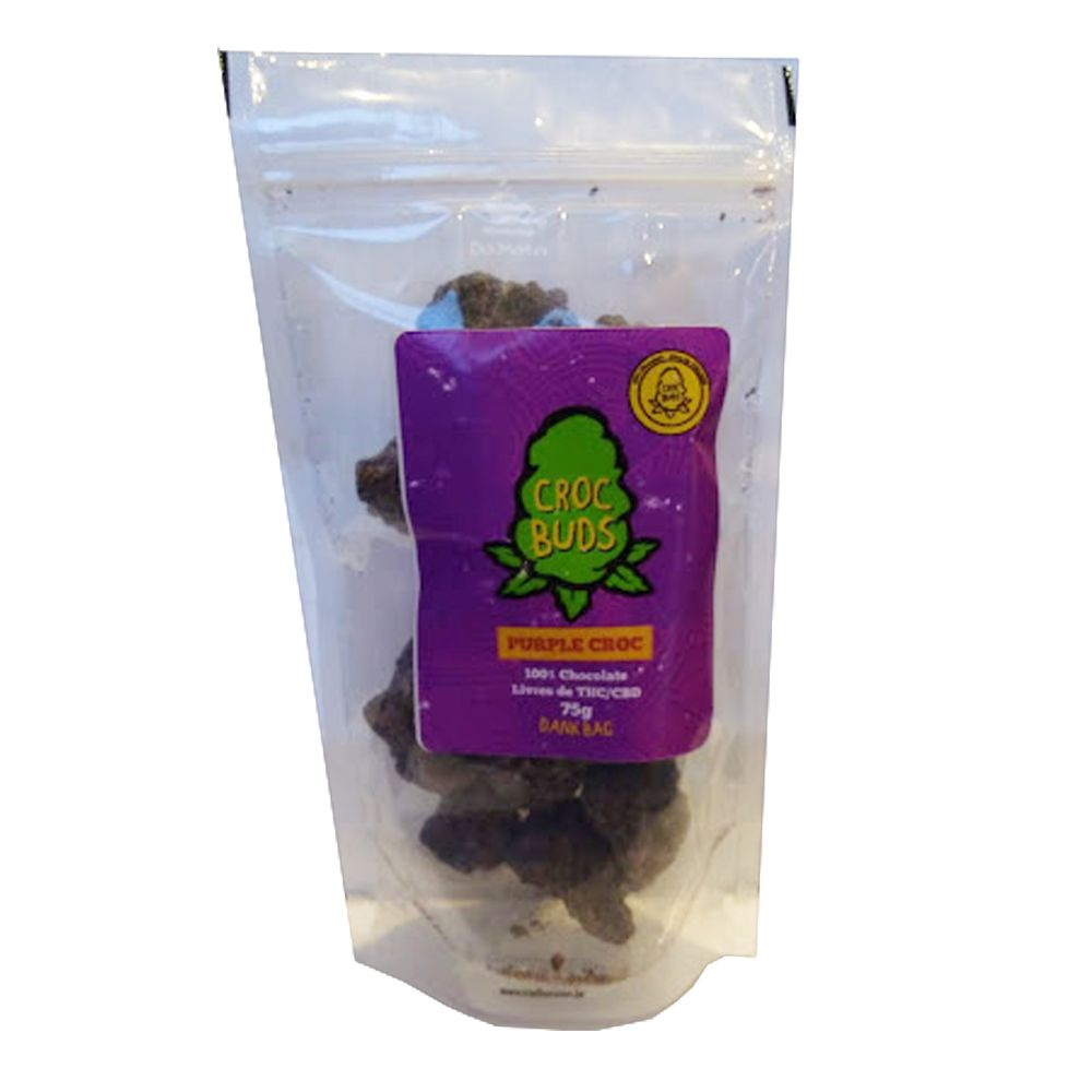 Chocolate Croc Buds - Purple Croc 75g