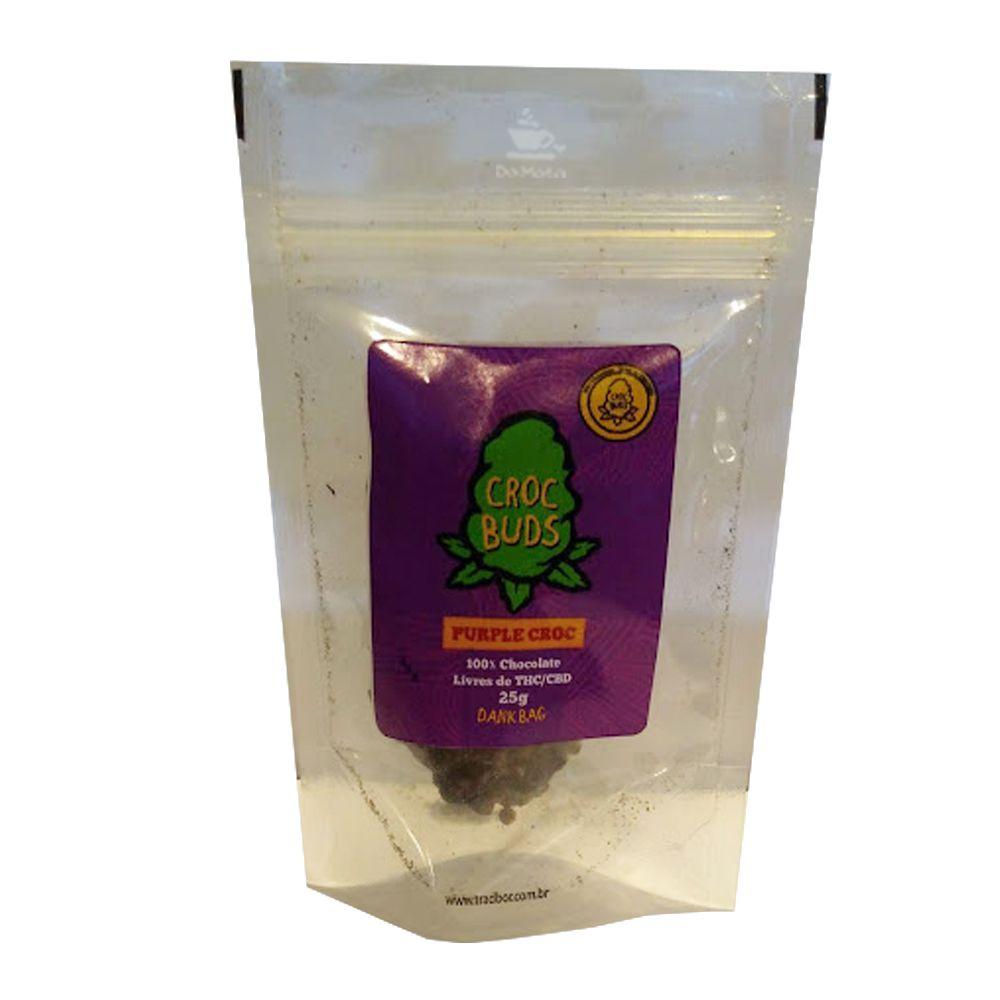 Chocolate Croc Buds - Purple Croc 25g