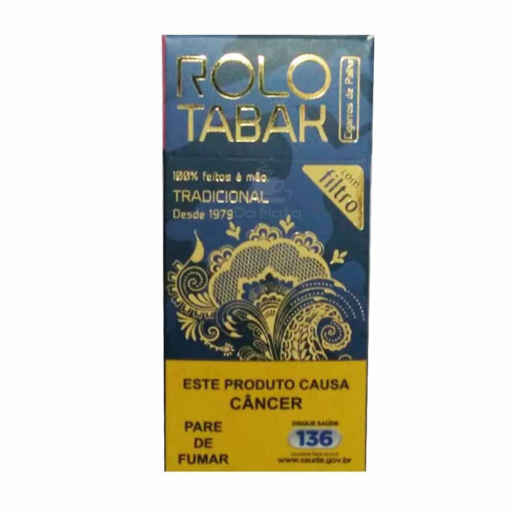 Cigarro de Palha c/ Filtro Rolo Tabak