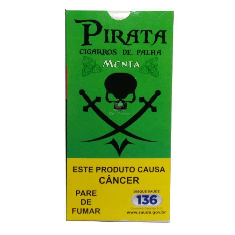 Cigarro de Palha Pirata Menta