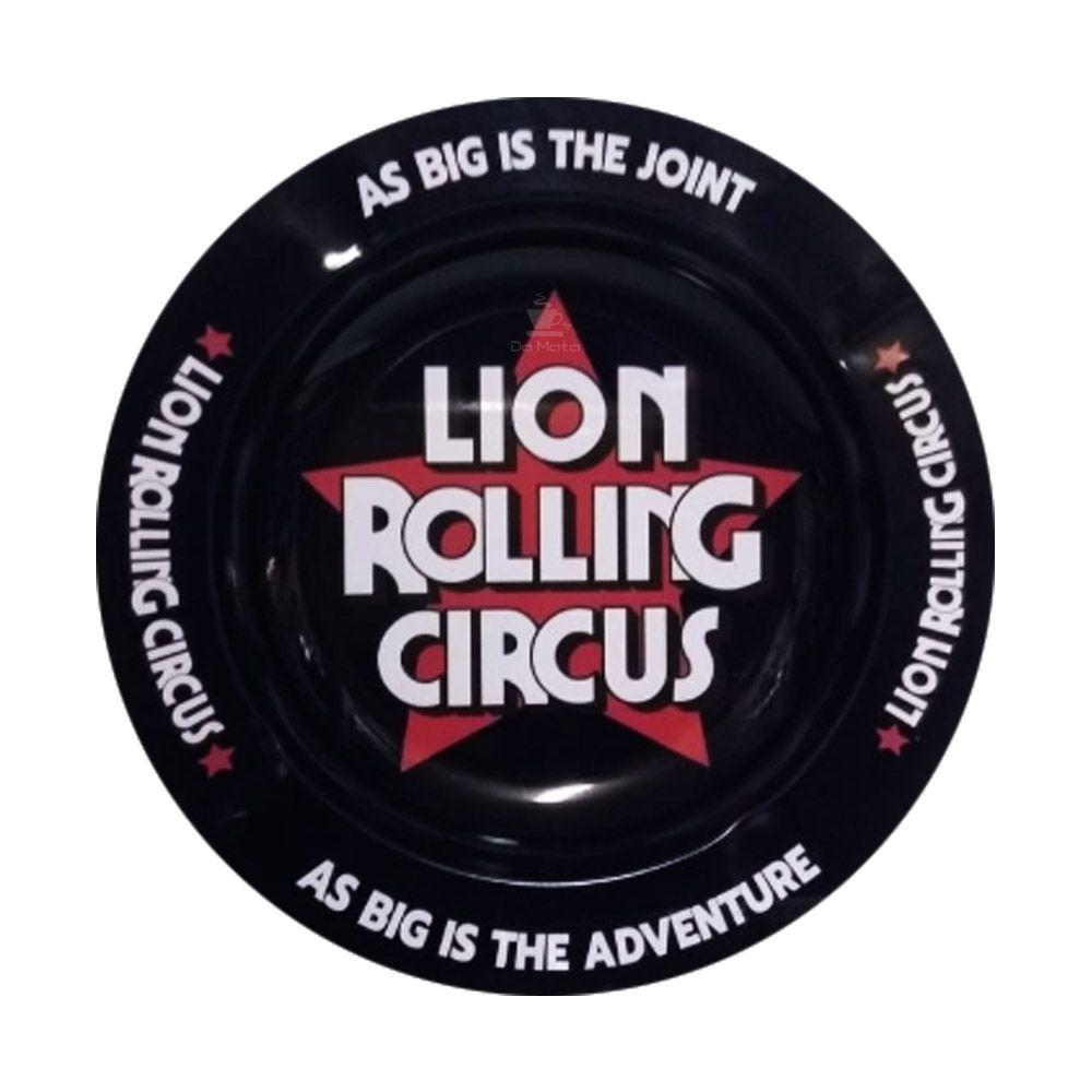 Cinzeiro de Metal Lion Rolling Circus
