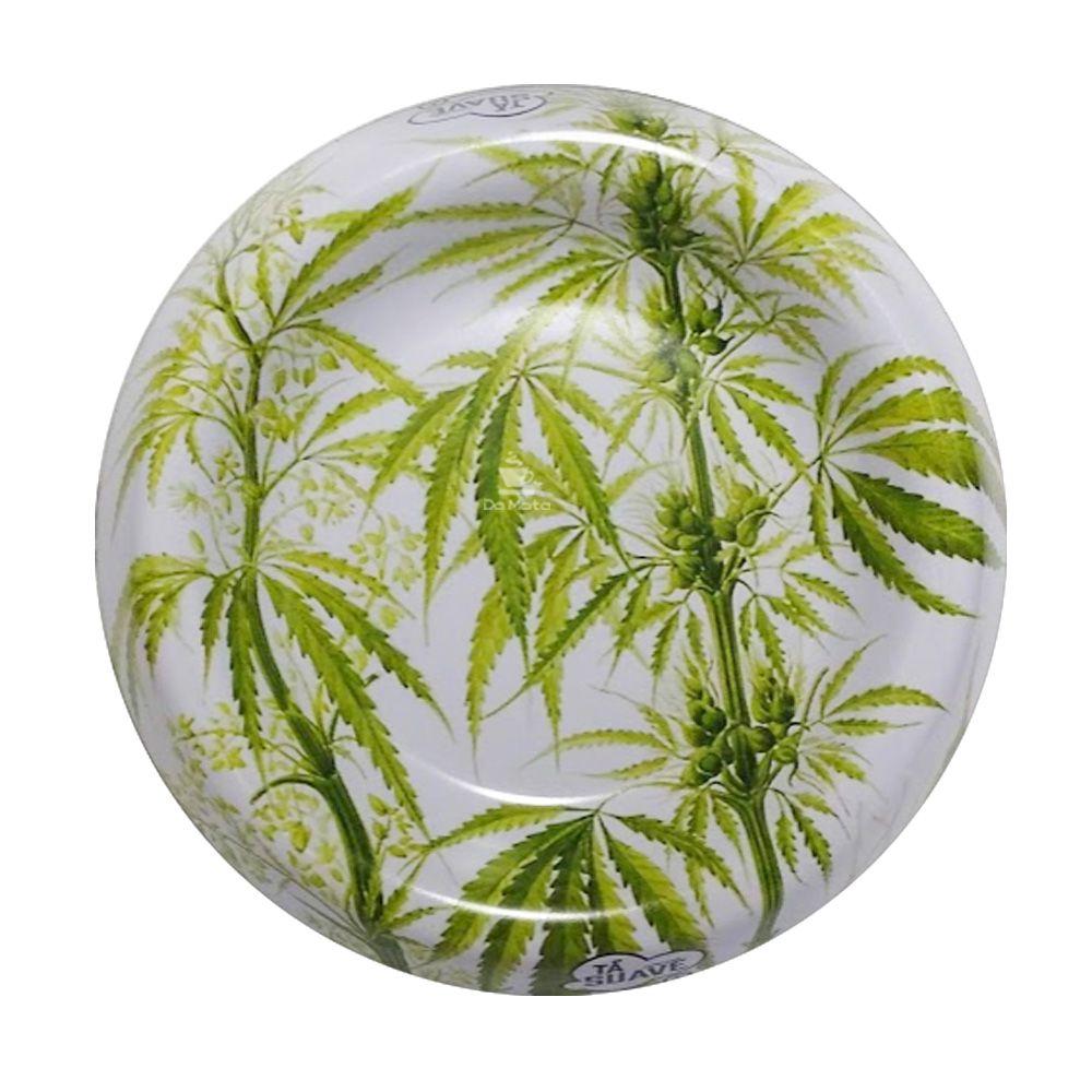 Cinzeiro de Metal Suave Cannabis