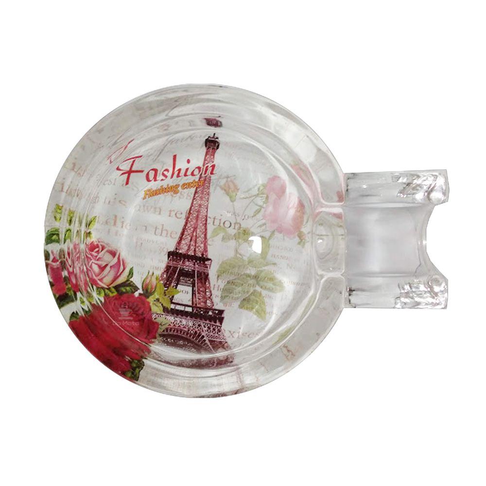 Cinzeiro de Vidro Paris Fashion