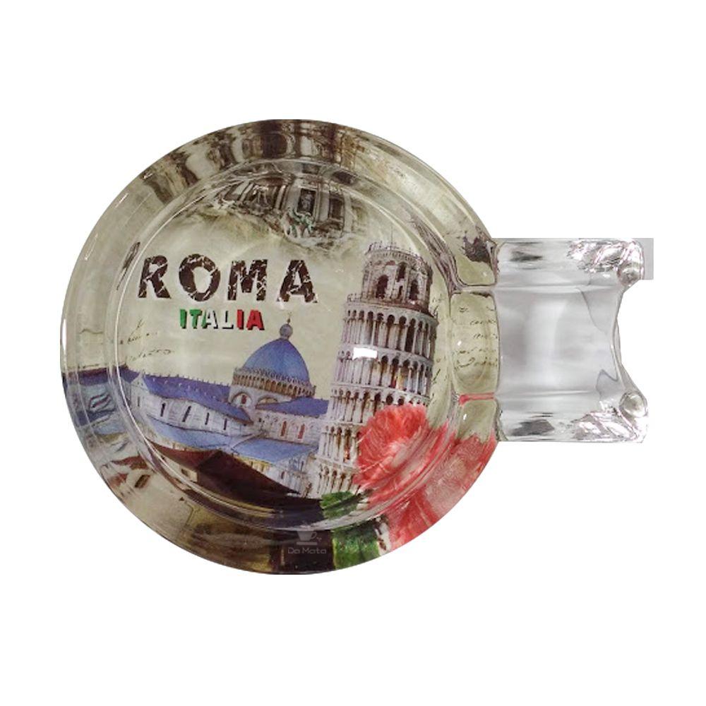 Cinzeiro de Vidro Roma