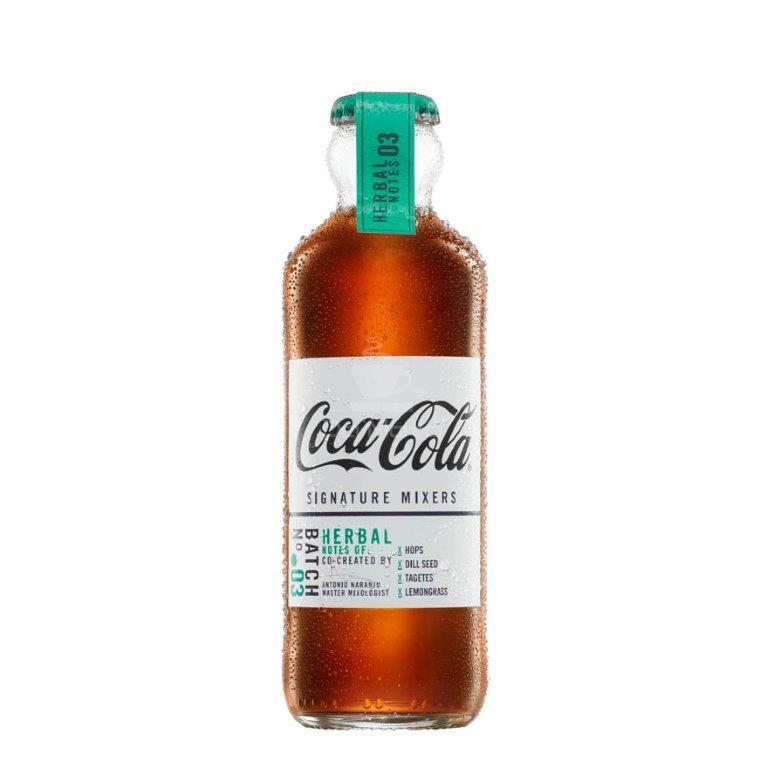 Coca-Cola, Importada, Signature Mixers, Herbal notes 200ml - nº 3