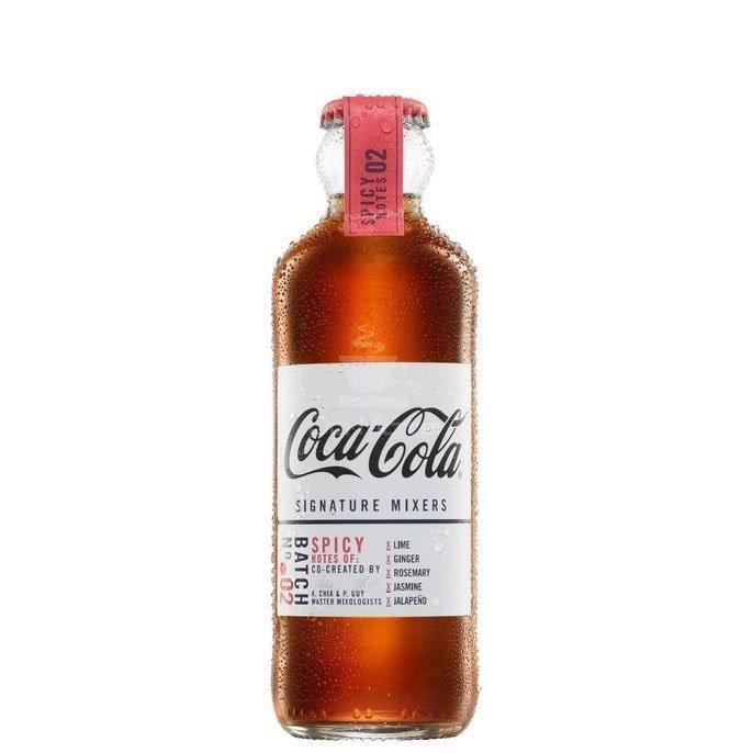 Coca-cola importada Spicy, notas especiais - 200ml - nº 2