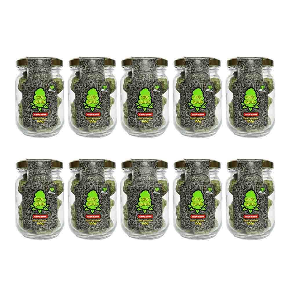 Croc Buds, Croc Kush - ATACADO 10 unidades