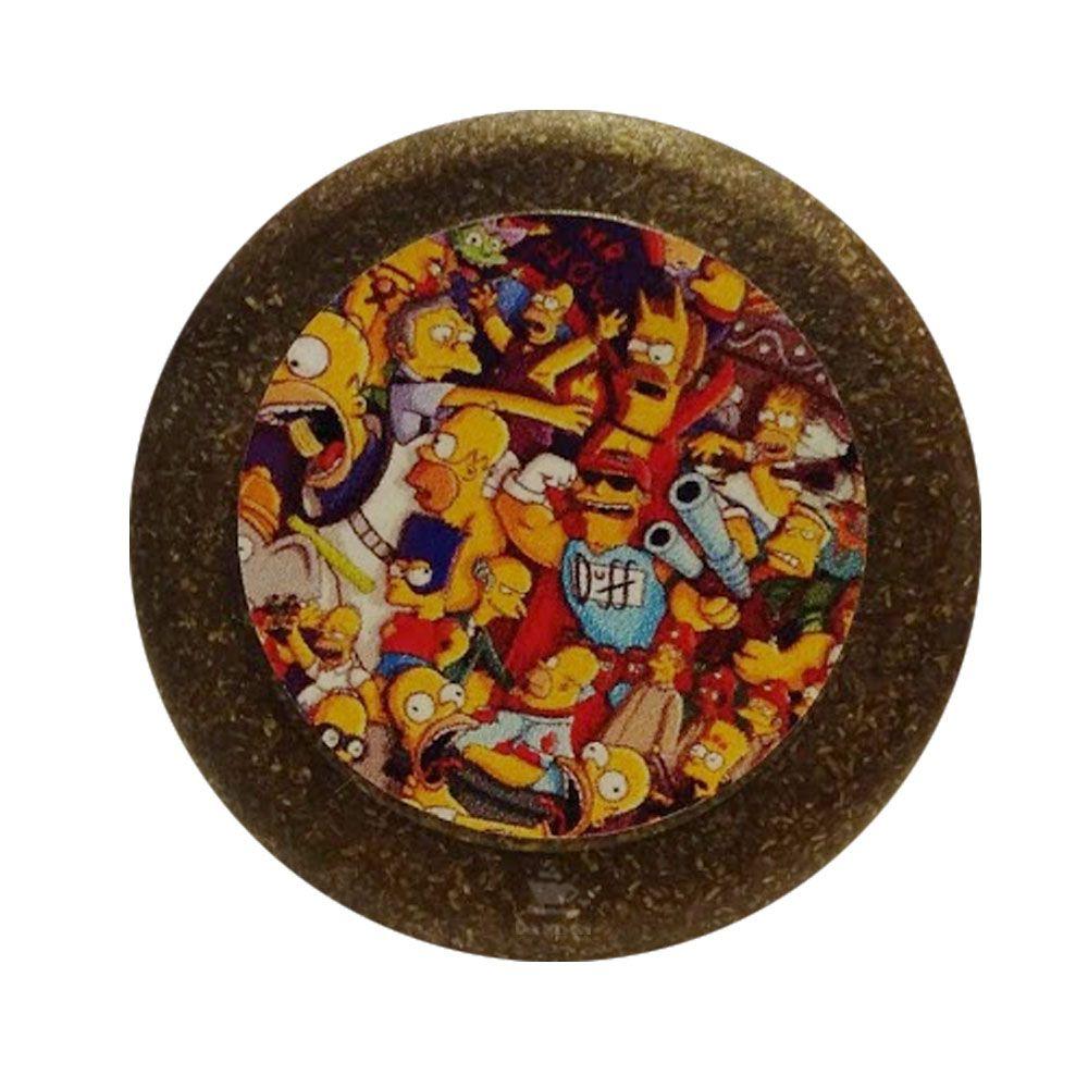 Dichavador de Fibra de Coco Simpsons