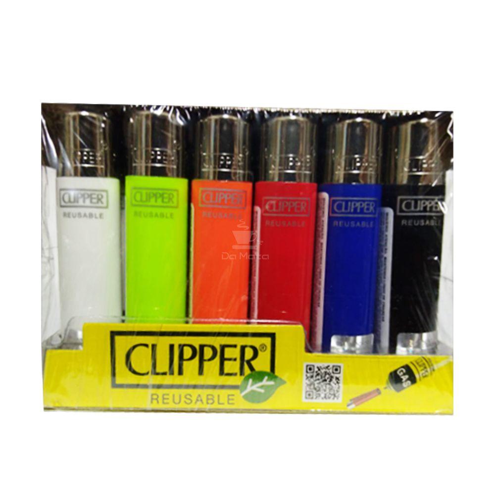 Display de Isqueiro Clipper Pequeno Colorido