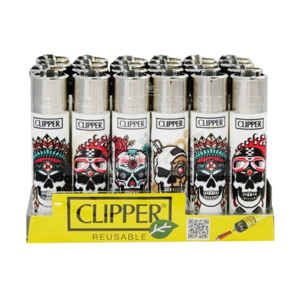 Display de Isqueiro Clipper Skulls 11