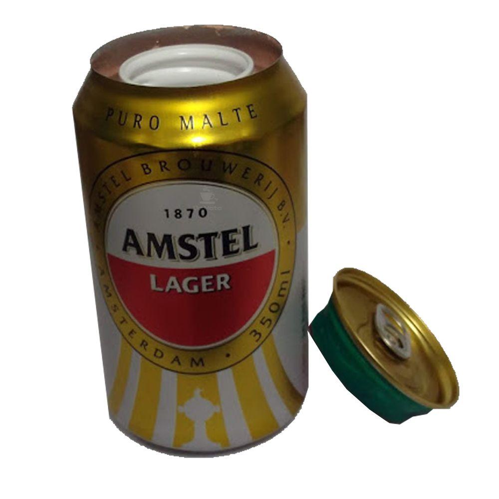 Esconderijo Lata de Amstel Nacional