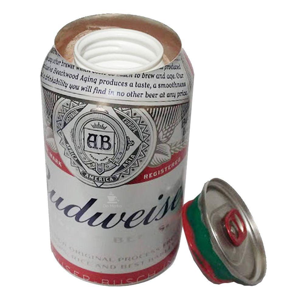 Esconderijo Lata de Budweiser Nacional