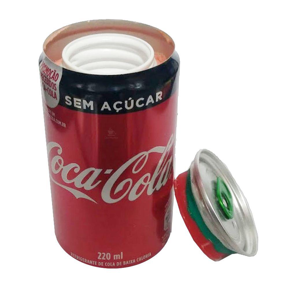 Esconderijo Lata de Coca-Cola s/ Açucar Nacional