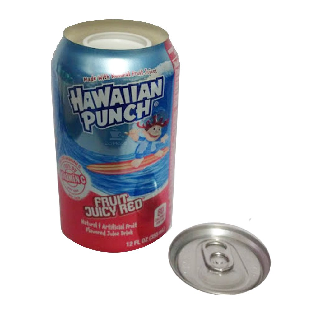Esconderijo Lata de Hawaiian Punch Importado