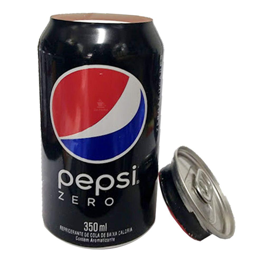 Esconderijo Lata de Pepsi Zero Nacional
