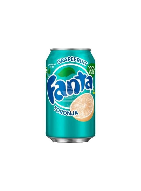 Fanta Toranja - Caffeine Free - Fanta Laranja Importada