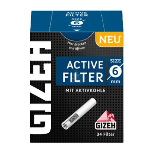 Filtro de Carvão Ativado - Gizeh - 6mm