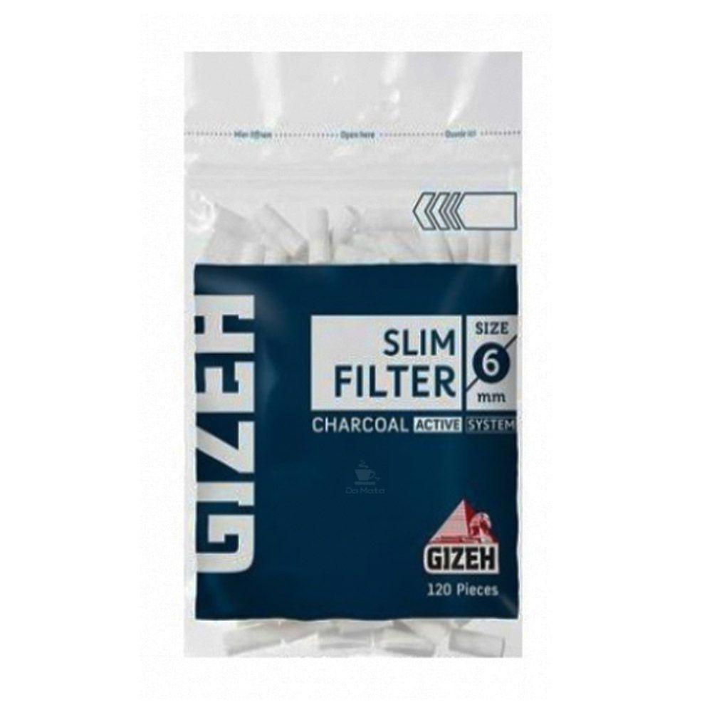 Filtro Gizeh com Carvão Ativado