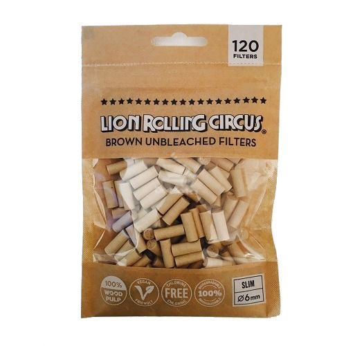 Filtro Lion Rolling Circus Unbleached