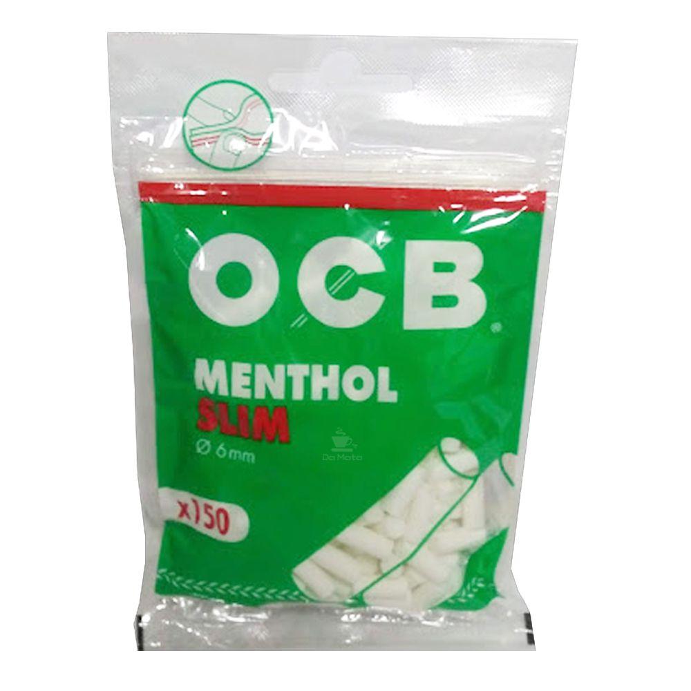 Filtro OCB Menthol Slim 6mm