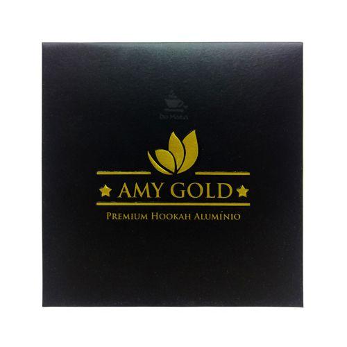 Folhas de Alumínio para Arguile - Amy Gold