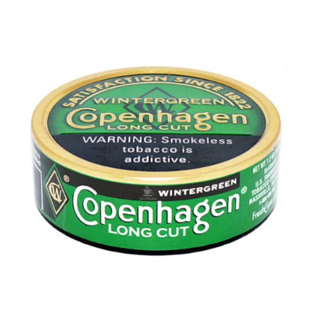 Fumo de Mascar Copenhagen Wintergreen