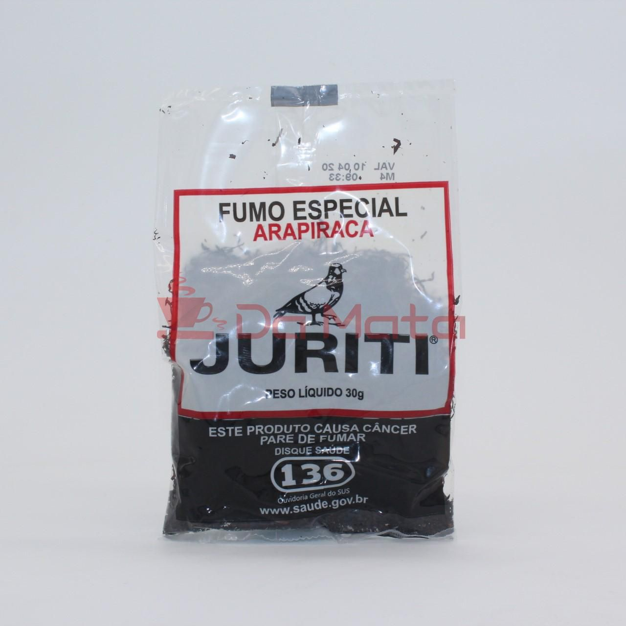 Fumo Especial Arapiraca - Juriti 30g