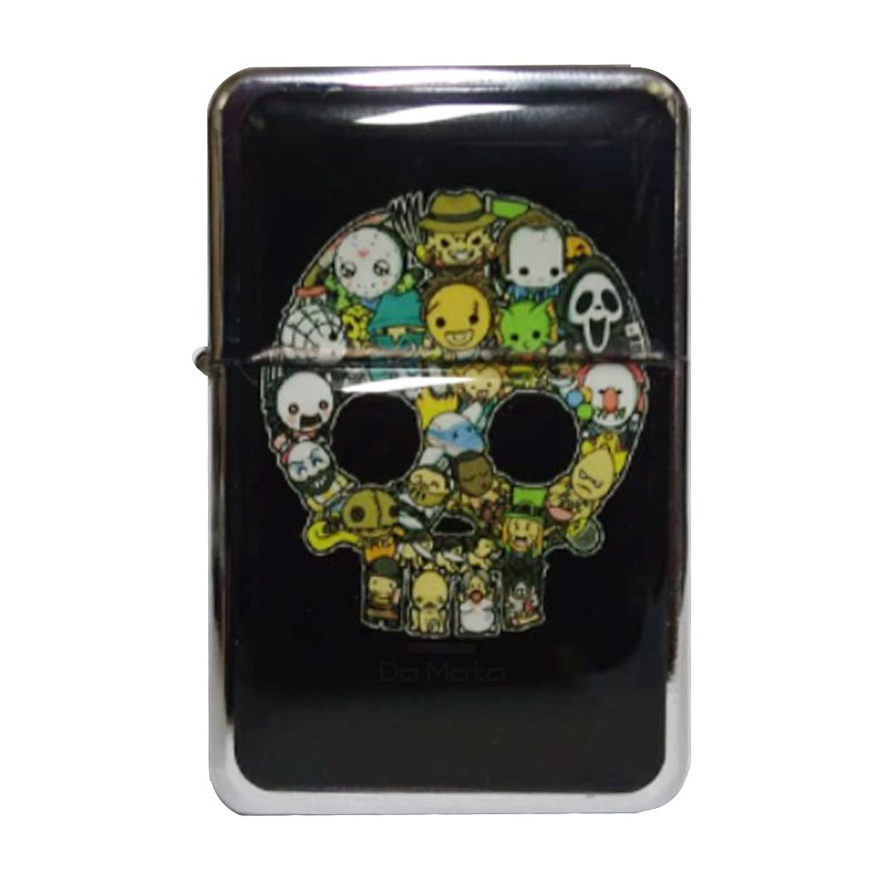 Isqueiro Clássico Horror Skull