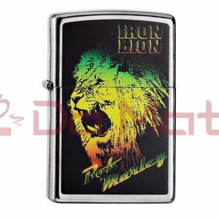 Isqueiro Zippo - Bob Marley Iron Lion