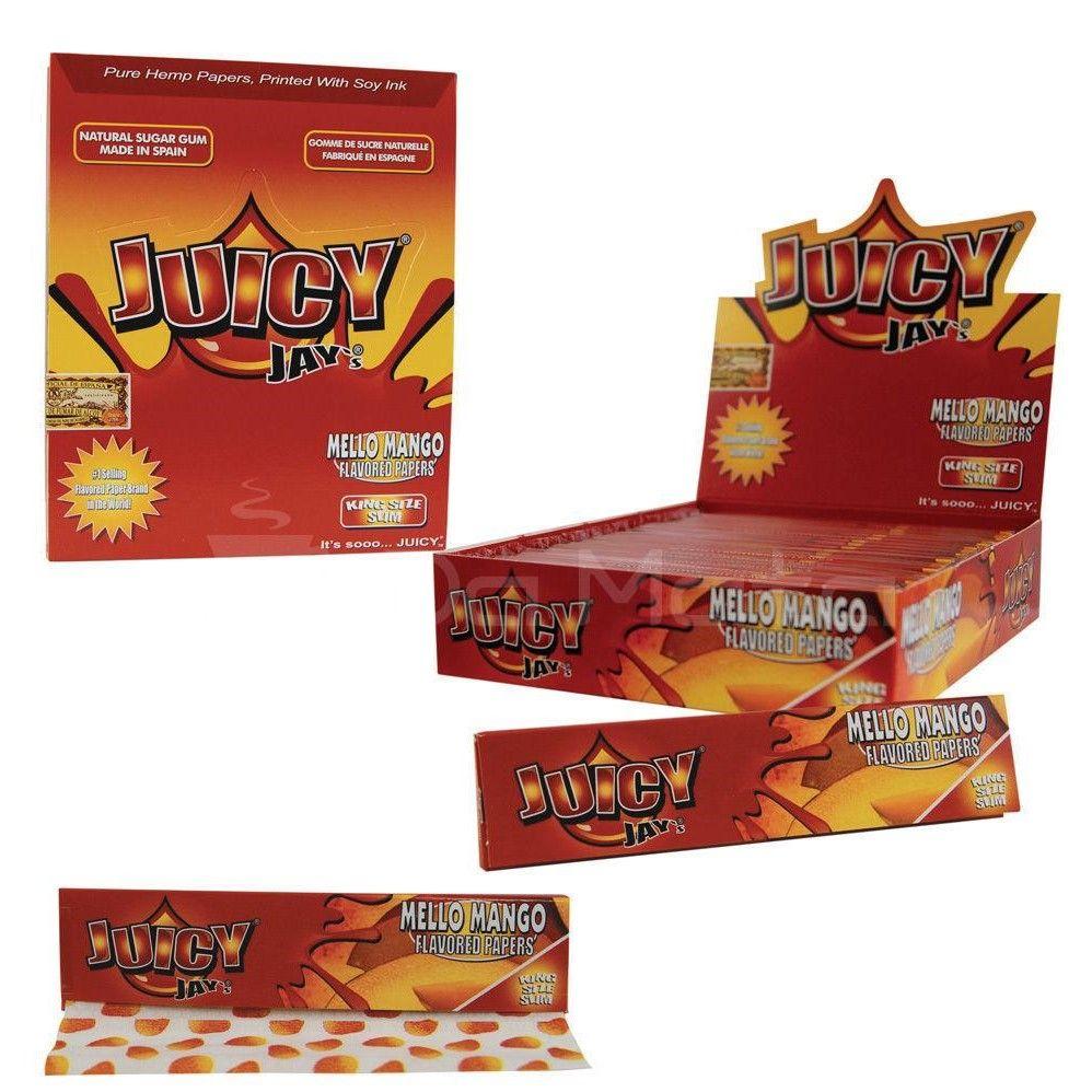 Juicy Jay's King Size  Mello Mango
