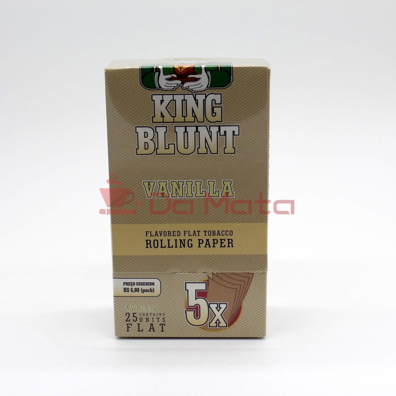 King Blunt - Vanilla - Caixa