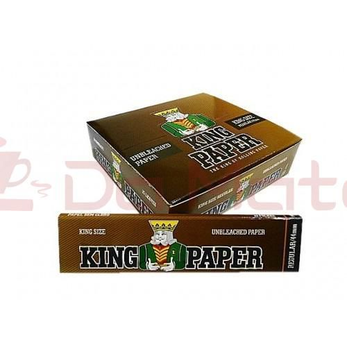 Caixa de Seda King Paper - Unbleached - King Size