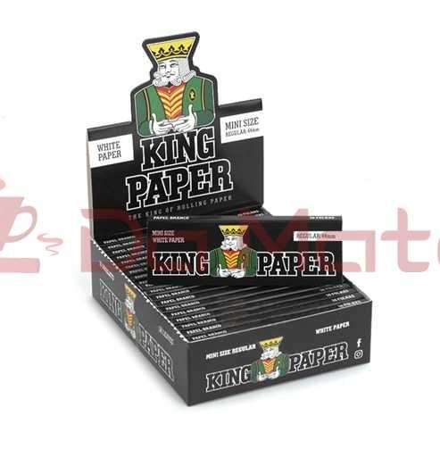 King Paper White - Mini Size - Caixa