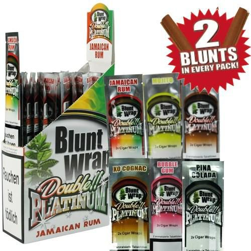 Kit Blunt Wrap -  15 unidades, 30 blunts - PROMOÇÃO