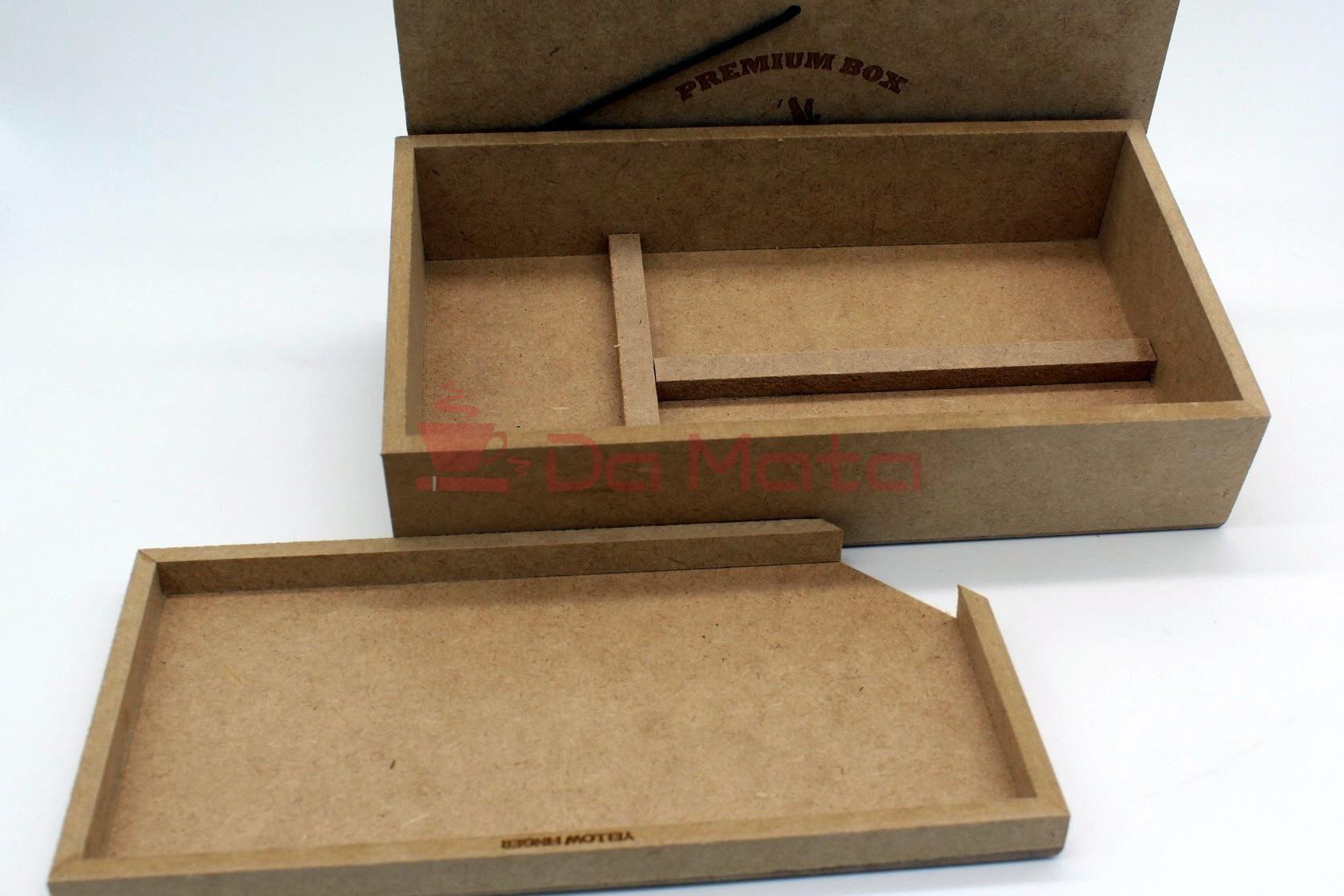 Kit Caixa Yellow Finger + Acessórios