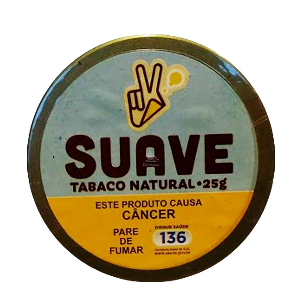 Lata de Tabaco Natural Suave