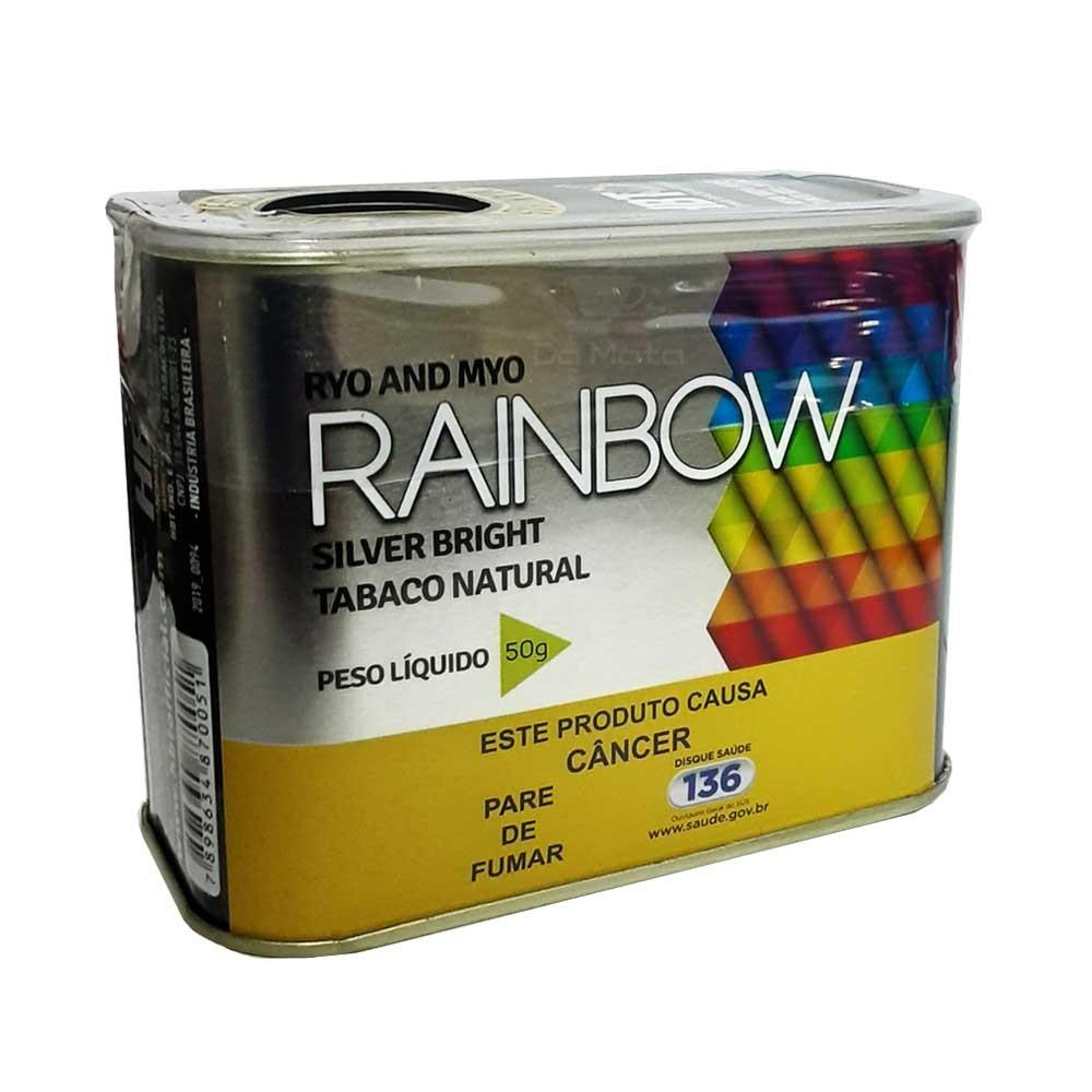Lata de Tabaco Rainbow Silver 50g