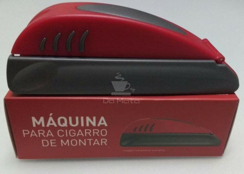 Máquina para montar cigarro