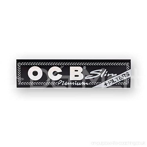 OCB - Premium black  Slim +Filters