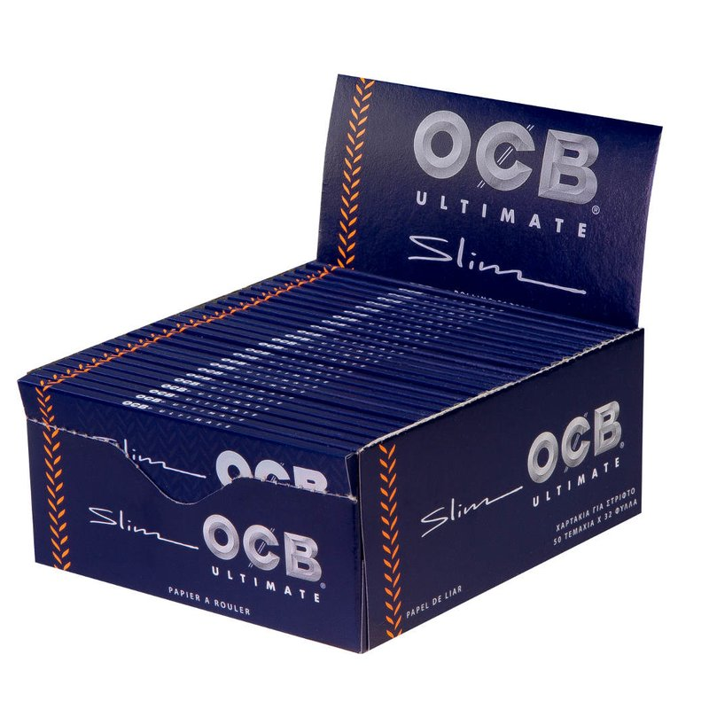 OCB Ultimate Slim - A seda mais fina do mundo!