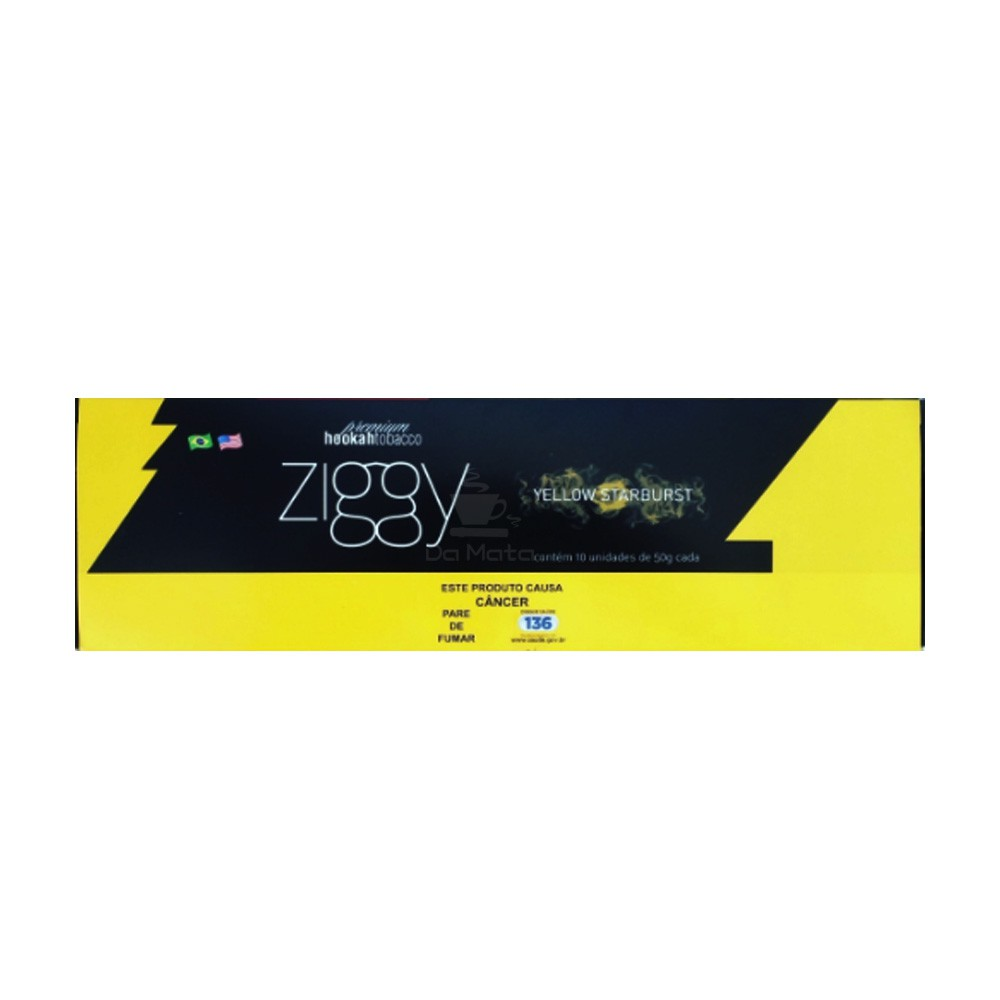 Pack de essência Ziggy Yellow Starburst