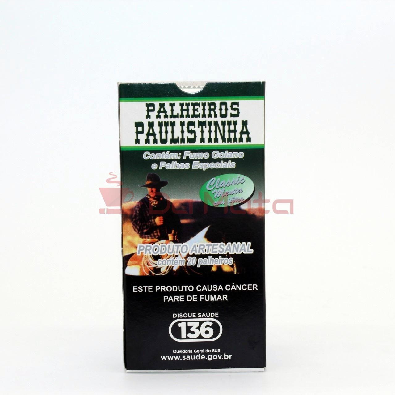 Palheiros Paulistinha - Classic Menta com filtro