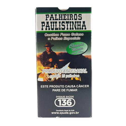 Palheiros Paulistinha Classic Menta c/ Filtro