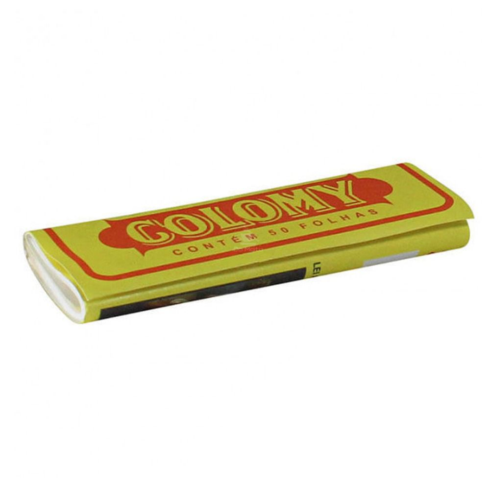 Papel para enrolar Cigarro, Seda Colomy 50 folhinhas