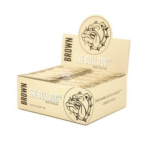Piteira Brown - The bulldog - Caixa c/ 50 un.